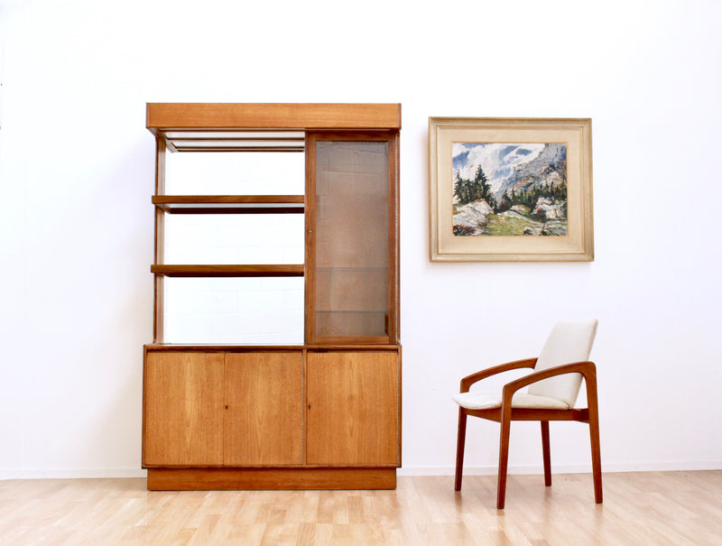 MID CENTURY CHINA CABINET BY TURNIDGE OF LONDON