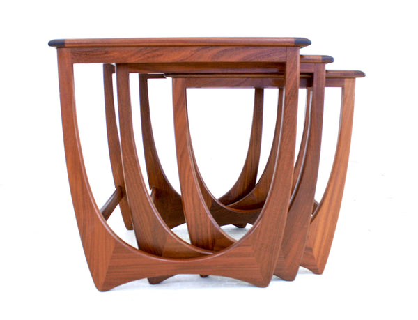 MID CENTURY NESTING TABLES BY G PLAN - FREE SHIPPING