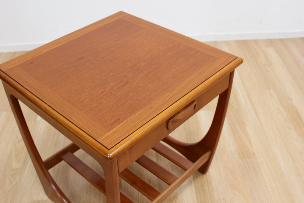 MID CENTURY ASTRO SIDE TABLE BY G PLAN