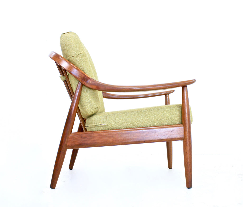 MID CENTURY LOUNGE CHAIR BY GREAVES AND THOMAS OF LONDON