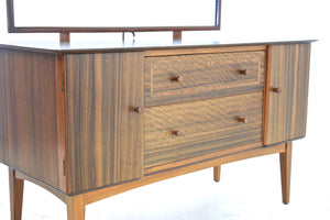 MID CENTURY VANITY/DRESSER BY MAPLE LTD OF LONDON