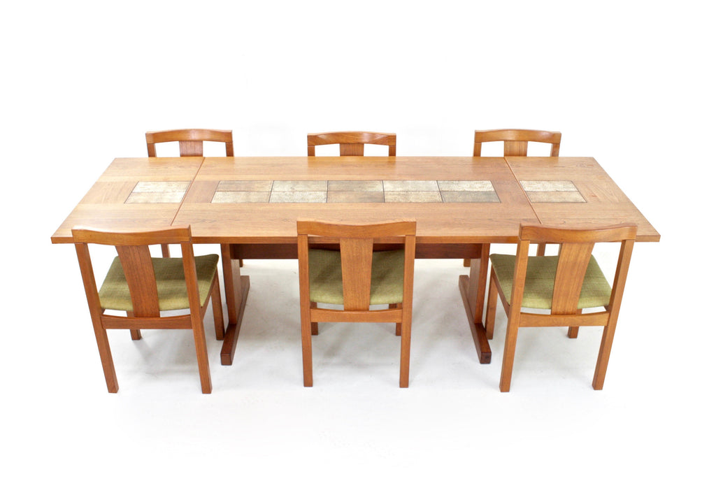 Mid Century Dining Set by Ansager Mobler of Denmark