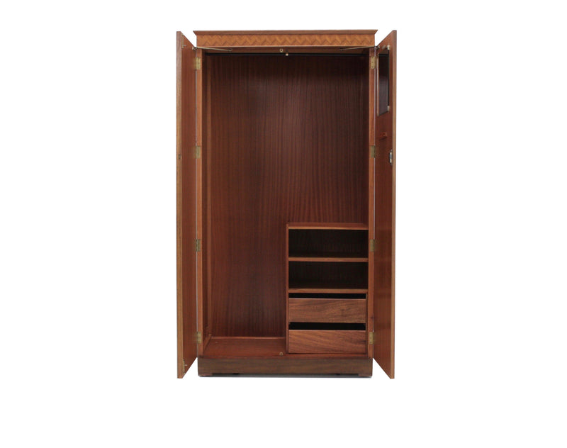 Mid Century Armoire Double by Uniflex of London.