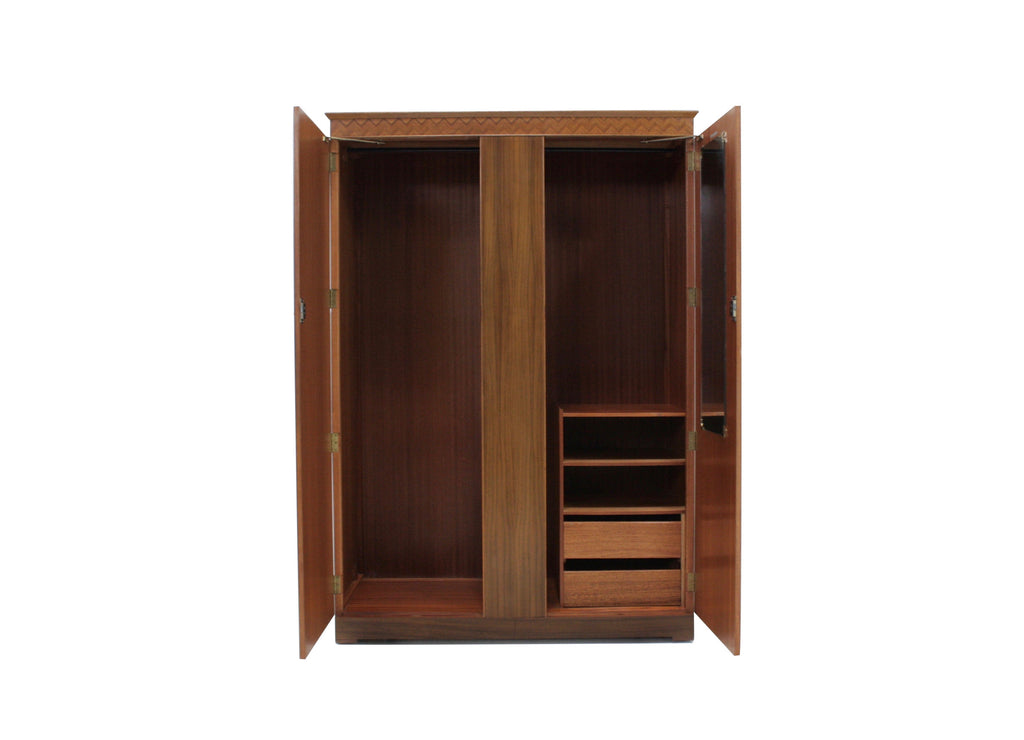 Mid Century Armoire Triple by Uniflex of London