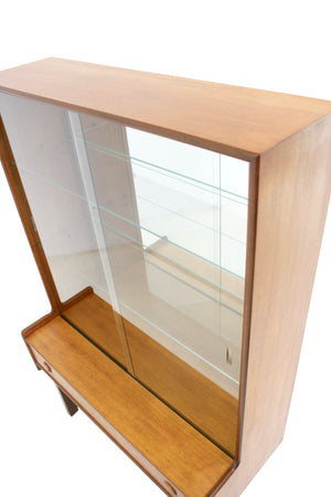 Mid Century Danish Display Cabinet
