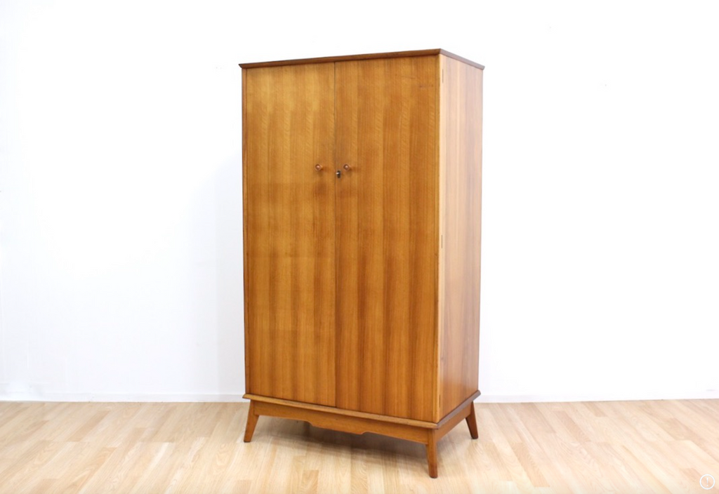 MID CENTURY ARMOIRE BY ALFRED COX FOR HEALS