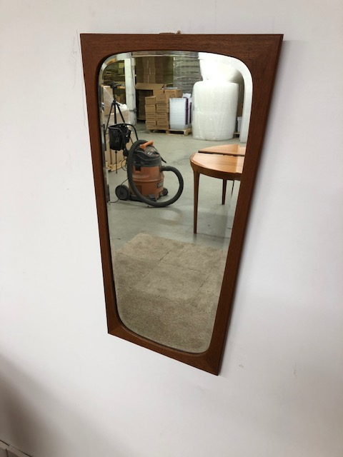 Mid Century Mirror by Clark Eaton of Denmark