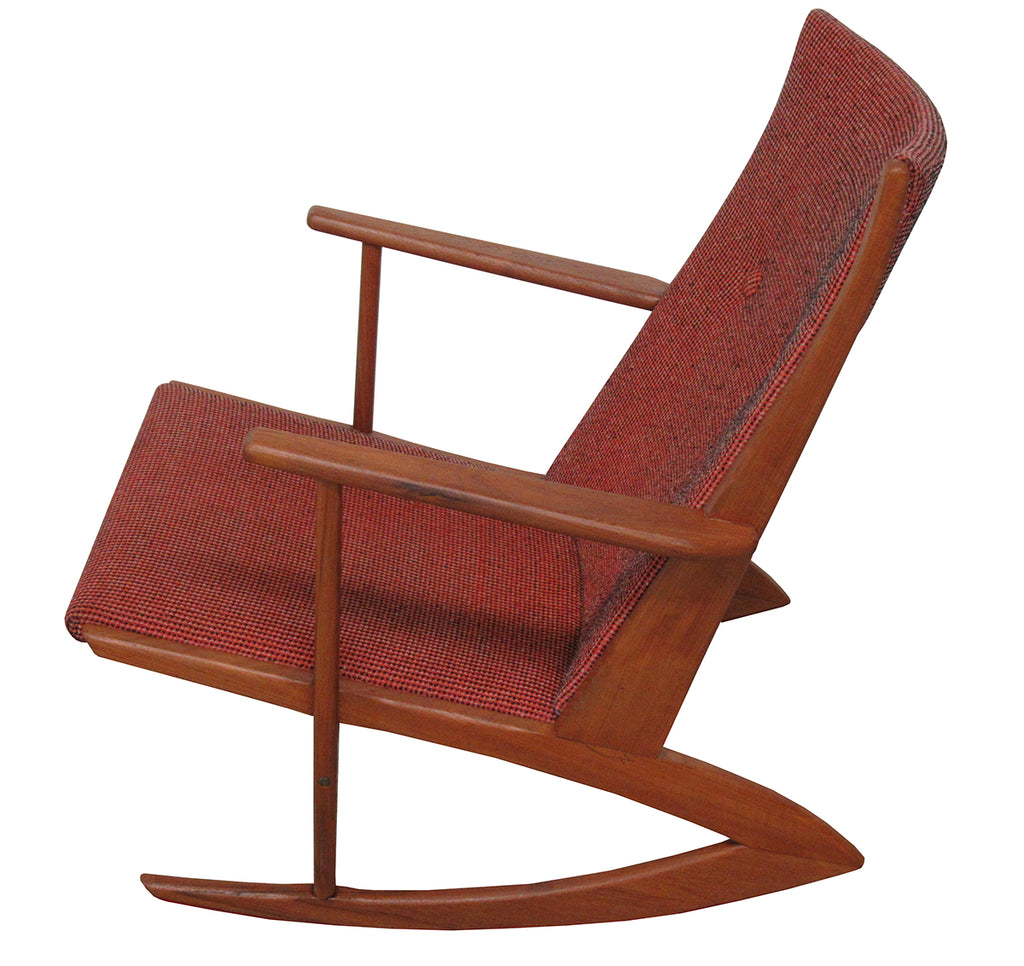 Mid Century Rocking Chair by Holger Georg Jensen