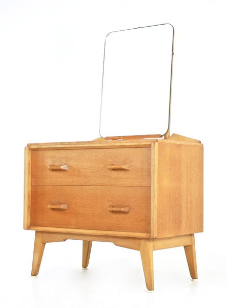 MID CENTURY VANITY / DRESSER BY E GOMME 1950s