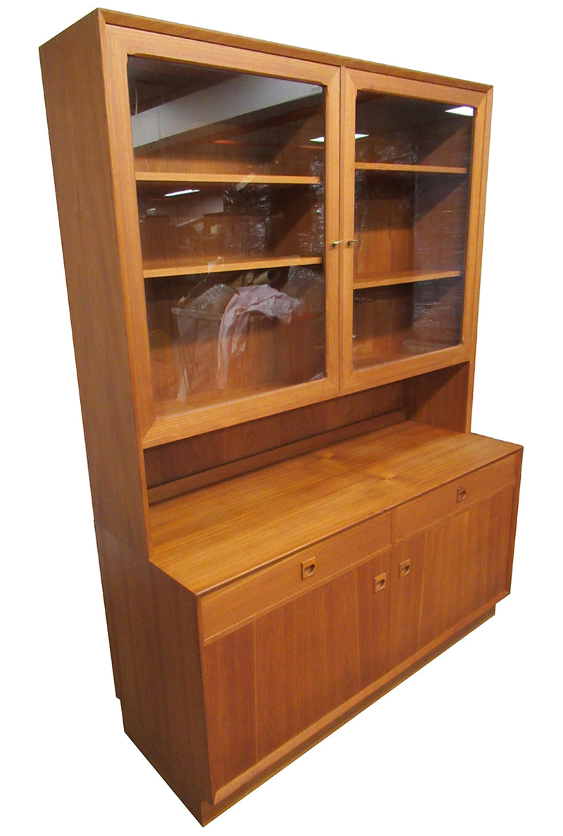 Mid Century China Cabinet by Brouer Mobelfabrik of Denmark