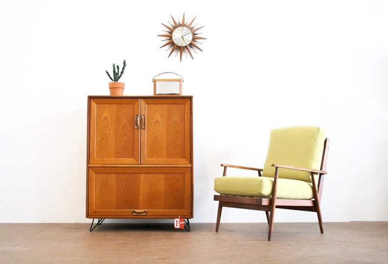 Mid Century TV and Media Cabinet by G Plan.