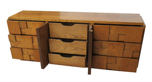 Mid Century Bedroom Set in Oak by Lane Furniture