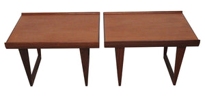 Mid Century End/Side Tables by Peter Lovig Nielsen (pair)