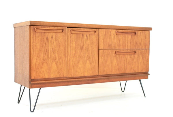 MID CENTURY CREDENZA BY MEREDEW OF LETCHWORTH - FREE SHIPPING