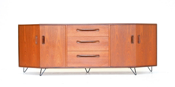 MID CENTURY CREDENZA BY VB WILKINS FOR G PLAN - FREE SHIPPING