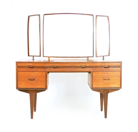 Mid Century Vanity/Dresser By White and Newton England.