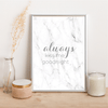 Always kiss me goodnight - Alotta Style - Interior Prints and Posters