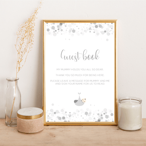 Baby Shower Guest Book - Alotta Style - Interior Prints and Posters