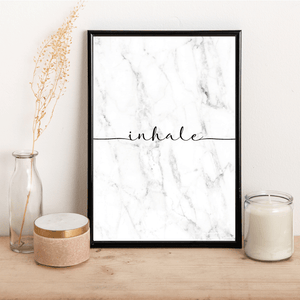 Inhale - Alotta Style - Interior Prints and Posters