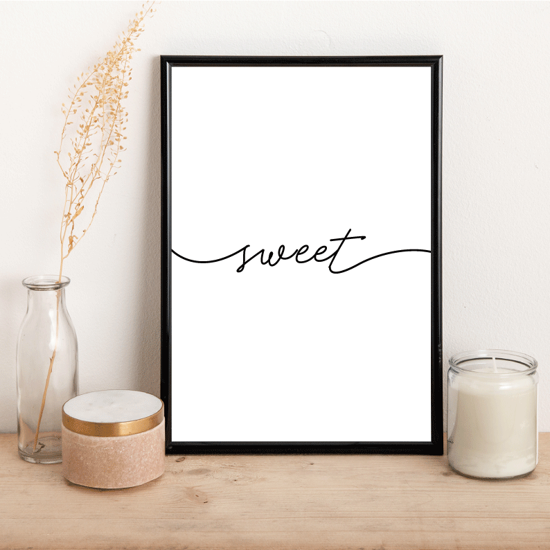 Sweet - Alotta Style - Interior Prints and Posters