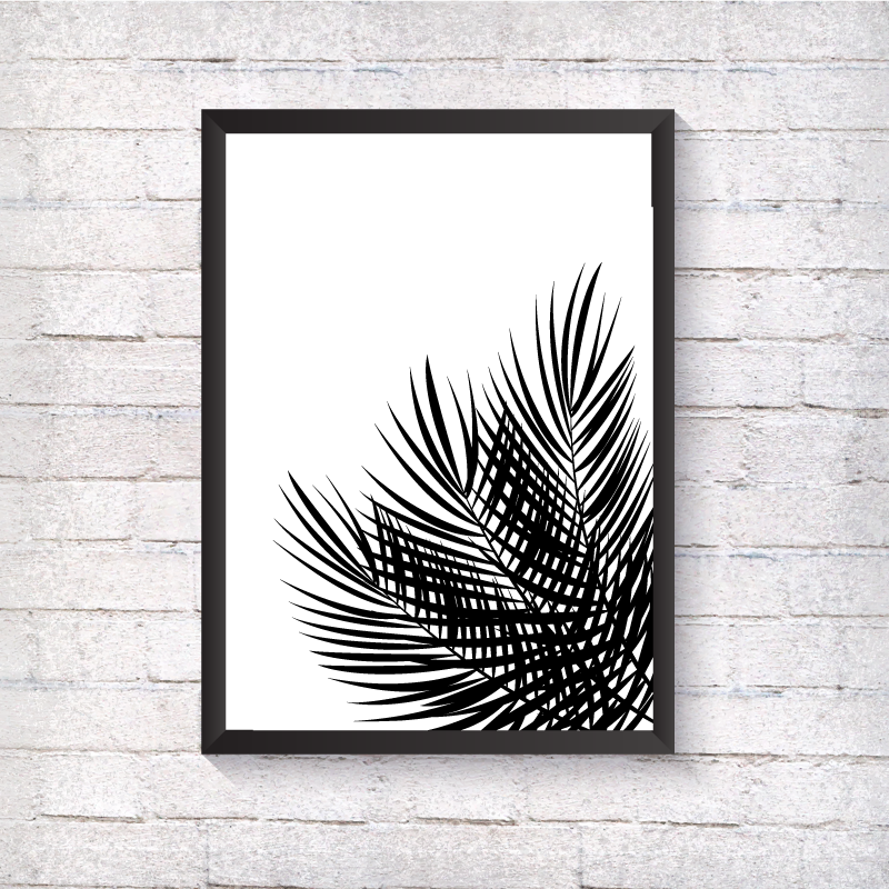 Palm Leaves - Alotta Style - Interior Prints and Posters