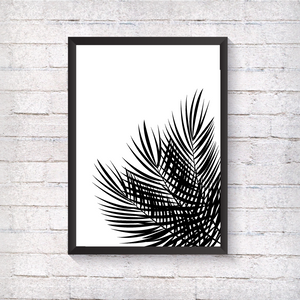Black Fern and HOME - Alotta Style - Interior Prints and Posters