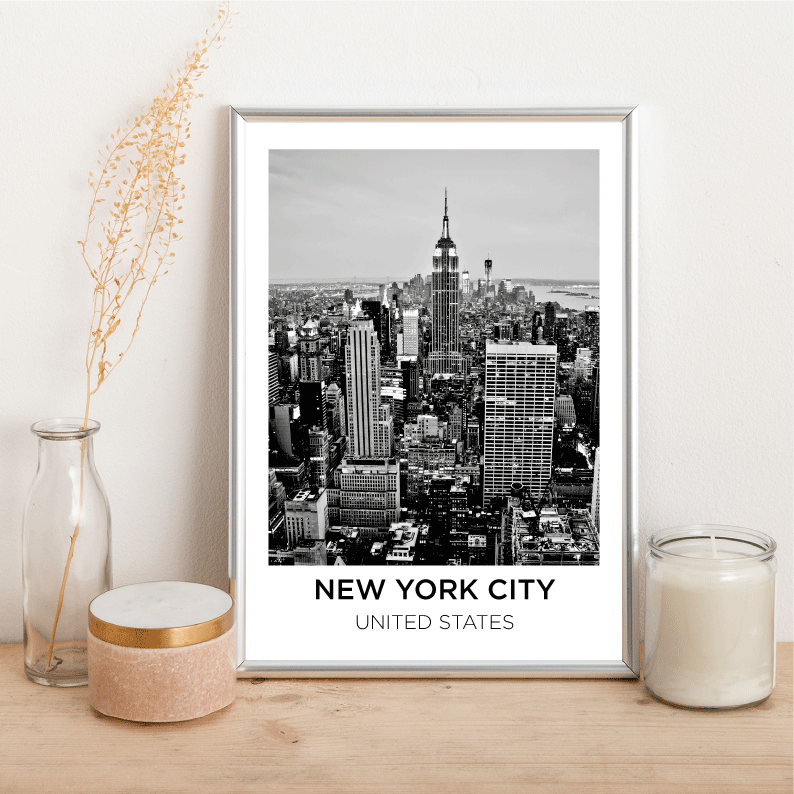 Personalised City - Alotta Style - Interior Prints and Posters