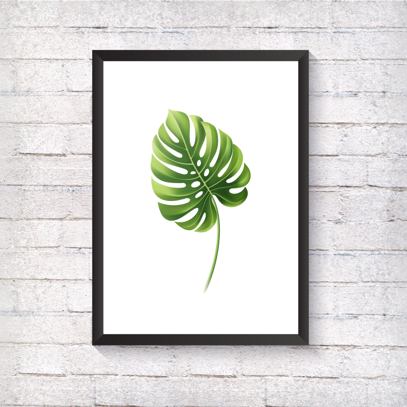Single Leaf - Alotta Style - Interior Prints and Posters