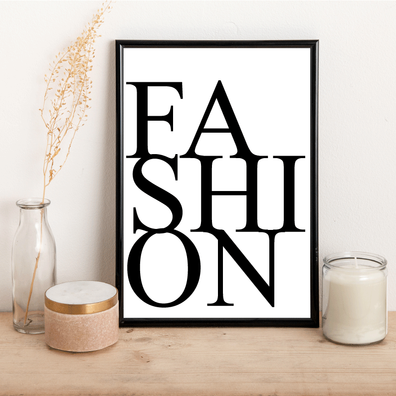 FASHION - Alotta Style - Interior Prints and Posters