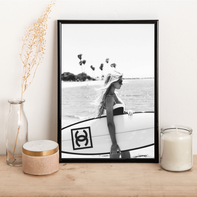 Surf board - Alotta Style - Interior Prints and Posters