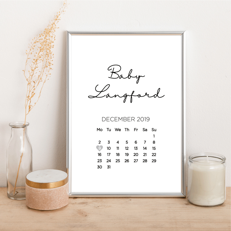 Baby is due... - Alotta Style - Interior Prints and Posters
