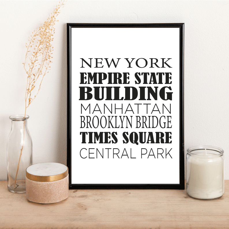 Personalised City Places - Alotta Style - Interior Prints and Posters