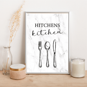 Personalised Family Kitchen - Alotta Style - Interior Prints and Posters