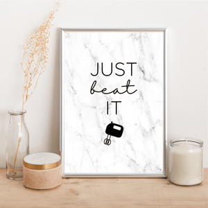 Just beat it - Alotta Style - Interior Prints and Posters
