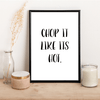 Chop it like its hot. - Alotta Style - Interior Prints and Posters