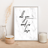 All you need is love - Alotta Style - Interior Prints and Posters