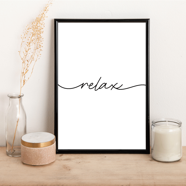 Relax - Alotta Style - Interior Prints and Posters