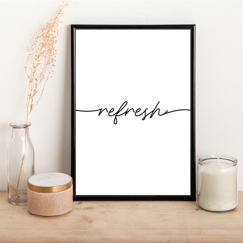 Refresh - Alotta Style - Interior Prints and Posters