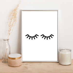 Eyelashes - Alotta Style - Interior Prints and Posters