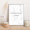 She believed she could, so she did - Alotta Style - Interior Prints and Posters