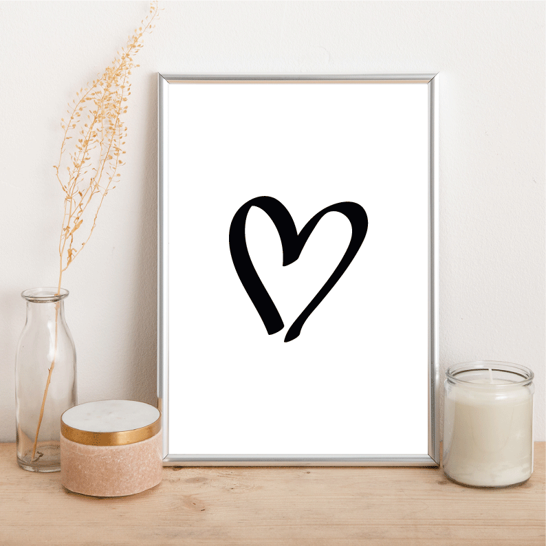 Heart - Alotta Style - Interior Prints and Posters