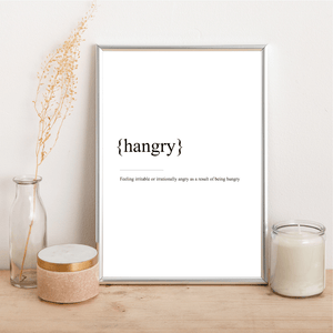 Hangry - Alotta Style - Interior Prints and Posters
