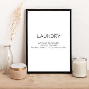 LAUNDRY - Alotta Style - Interior Prints and Posters