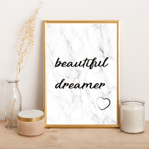 Beautiful Dreamer - Alotta Style - Interior Prints and Posters