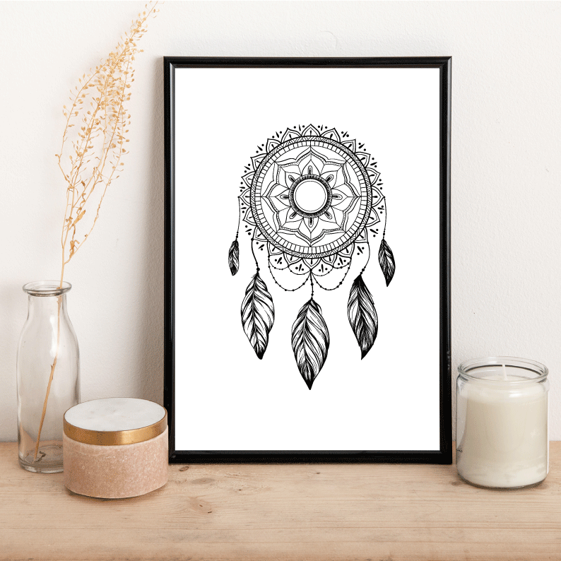 Dream Catcher - Alotta Style - Interior Prints and Posters
