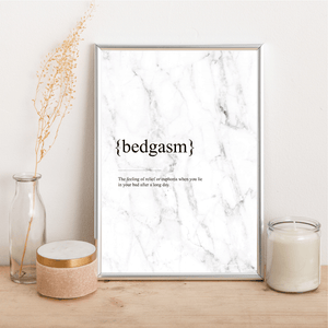 Bedgasm - Alotta Style - Interior Prints and Posters