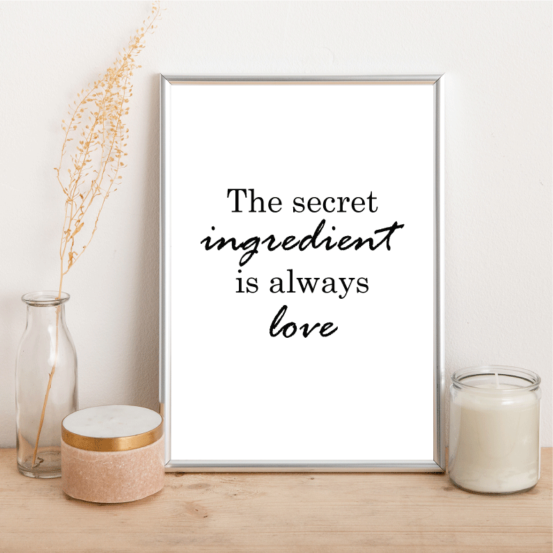 Love Secret - Alotta Style - Interior Prints and Posters