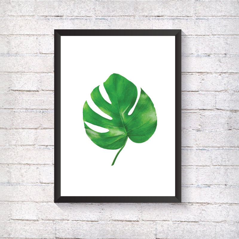 Montesora Leaf - Alotta Style - Interior Prints and Posters