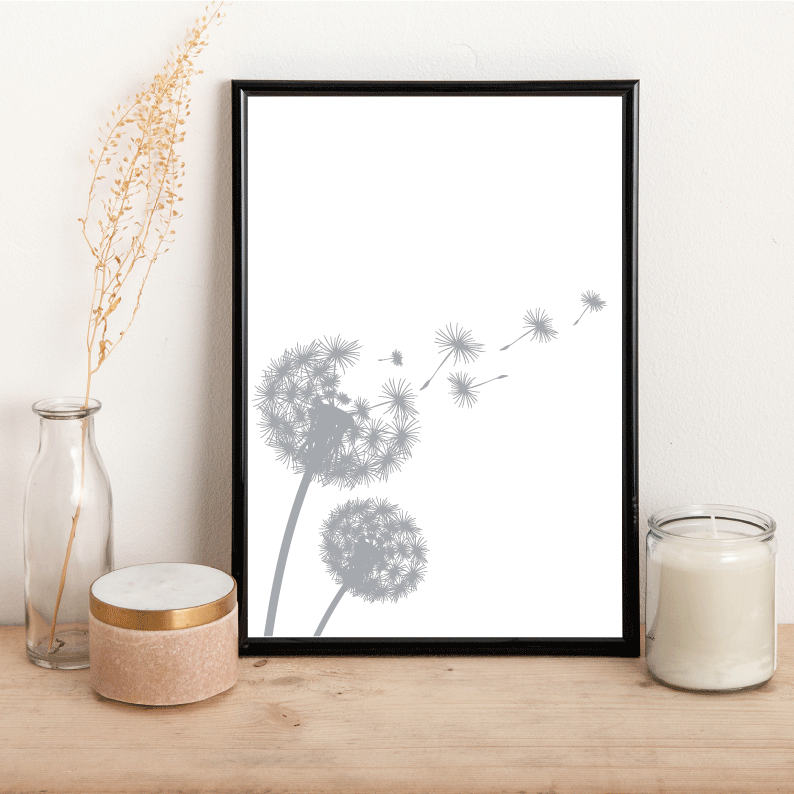 Dandelion - Alotta Style - Interior Prints and Posters