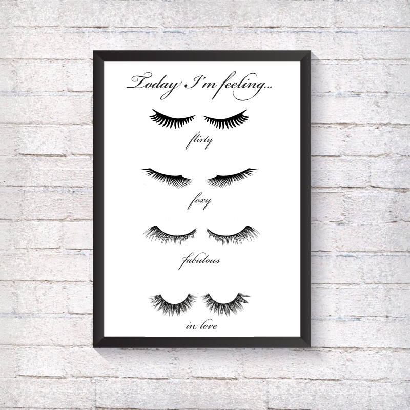 Today I'm Feeling... - Alotta Style - Interior Prints and Posters